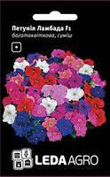 Семена петуния Ламбада F1, многоцветковая смесь 10 шт