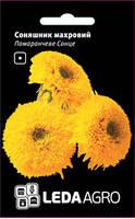 Семена подсолнечника Оранжевое Солнце, 0,5 гр., махровый