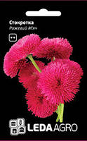 Семена маргаритки Розовый Мяч, 0,01 гр.