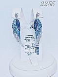 Срібні сережки Арт.2255, фото 2