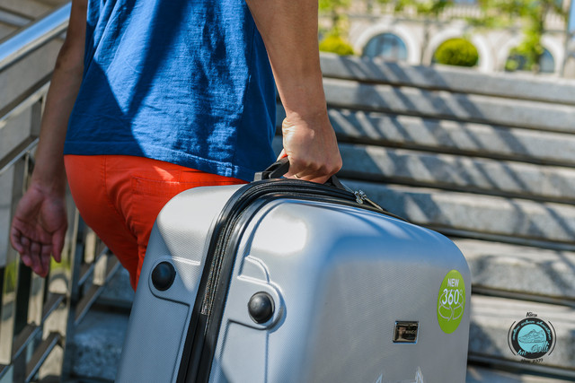 Дорожные чемоданы на колесах