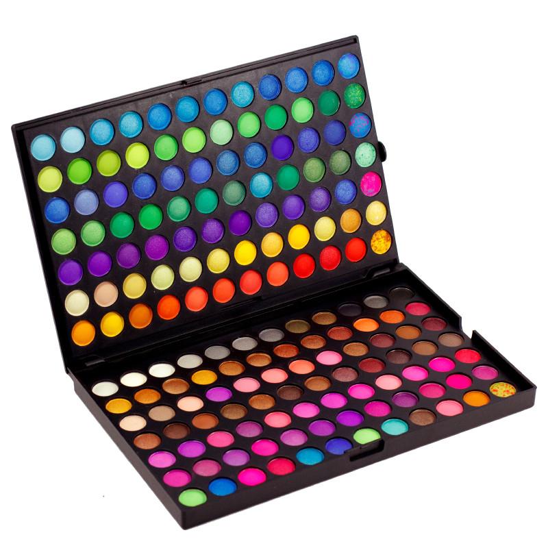 Профессиональный набор теней для век МАС 168 оттенков №2 Полноцветные