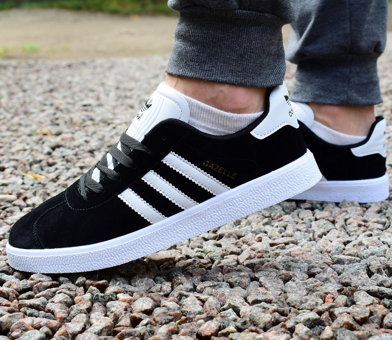 68b09717279d69 Кроссовки мужские Adidas Gazelle черные купить в Украине оптом и в ...