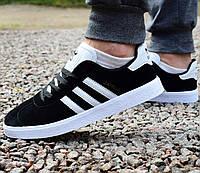 Кросівки чоловічі Adidas Gazelle чорні