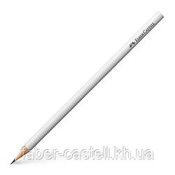 Карандаш графитный Faber-Castell DESIGN, корпус белый, 118381