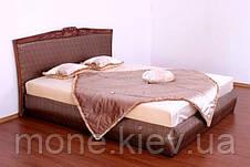 """Кровать """"Карина"""" двуспальная с мягким изголовьем и подъемным механизмом , фото 3"""
