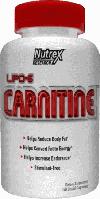 Карнитин Nutrex Lipo L-Carnitine 60 caps