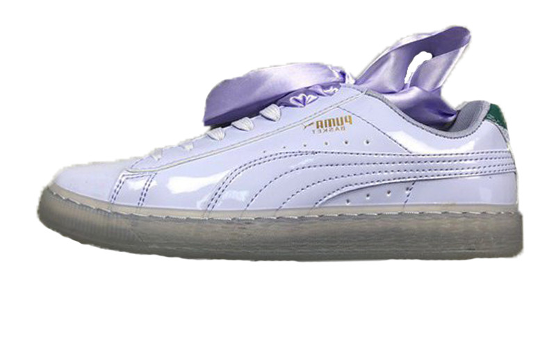 separation shoes 4416b 1e77a Женские кроссовки Puma Suede Heart Purple 38