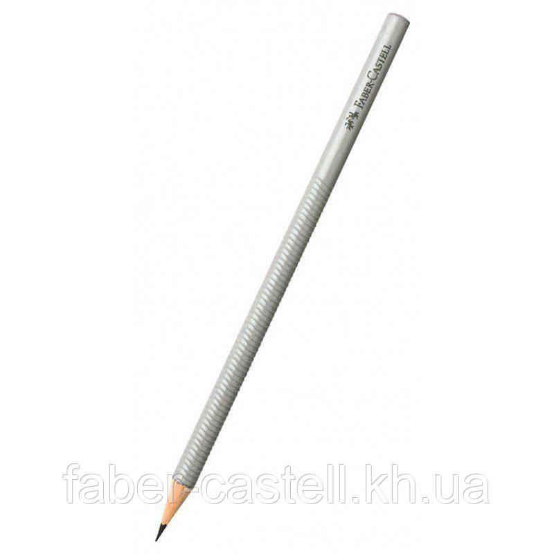 Карандаш графитный Faber-Castell DESIGN, корпус серый, 118382