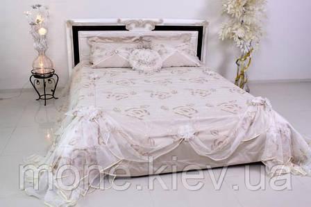 """Кровать """"Маргарита"""" двуспальная с мягким изголовьем и подъемным механизмом , фото 2"""