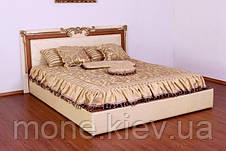 """Кровать """"Маргарита"""" двуспальная с мягким изголовьем и подъемным механизмом , фото 3"""