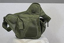 Городская универсальная сумка Silver Knight с системой M.O.L.L.E Olive (865 олива), фото 2