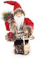 """Новогодняя кукла """"Санта Клаус"""" 30 см"""