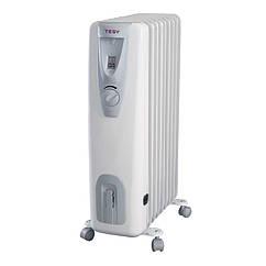 🇧🇬 Электрический масляный радиатор TESY настенный, 2500 Вт, обогреватель на 12 секций (СВ 2512 Е01R)