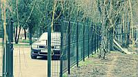 Забор секционный из сварной панели для дома и дачи, фото 1