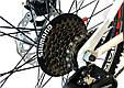 """Подростковый велосипед ARDIS AVENGER MTB 24"""" 13"""" Белый/Зеленый, фото 7"""
