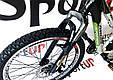 """Подростковый велосипед ARDIS AVENGER MTB 24"""" 13"""" Белый/Зеленый, фото 5"""
