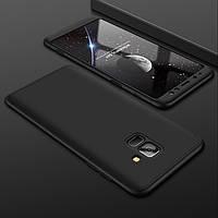 Чехол Full Cover 4D для Samsung Galaxy A8 2018
