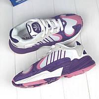 Женские кроссовки Adidas Yung-1 Yeezy 700 Violet (ТОП реплика)