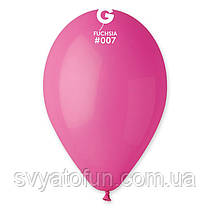 """Латексні повітряні кульки 12"""" пастель 07 фукции Gemar"""