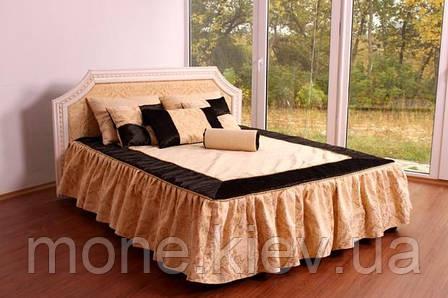 """Кровать """"Шарлотта"""" двуспальная с мягким изголовьем и подъемным механизмом , фото 2"""