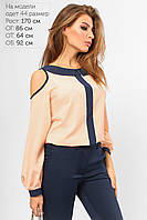 Красивая и модная блузка с лампасом