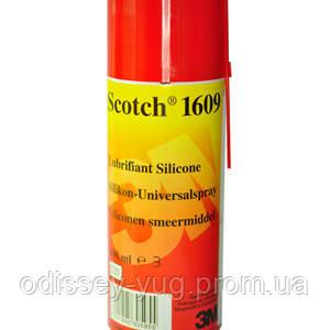 Аэрозоль 3М Scotch 1609. ( 400 мл.). Широкого спектра применения.Силиконовый.1609.