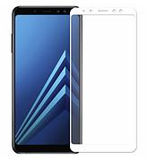 Защитное стекло Full cover Samsung A6+ plus - Белое