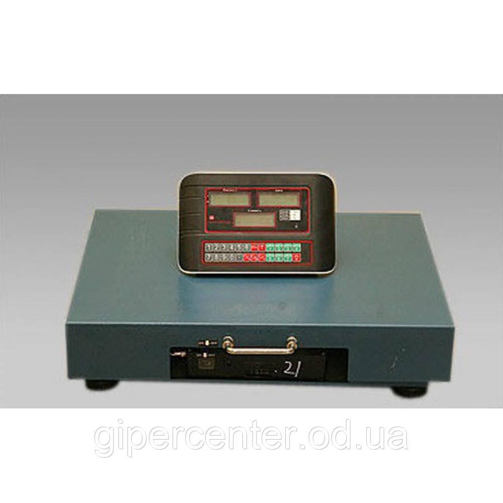 Весы товарные Олимп TCS-R2-300 (400х500 мм, 300 кг), с радиоканалом