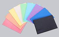 Салфетки для пациентов, нагрудники: 3 слоя, разного цвета, ECO + NB