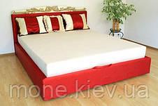 """Кровать """"Ева"""" двуспальная с мягким изголовьем и подъемным механизмом + 3 подушки, фото 3"""