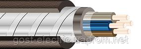 КВВГэ 4х1,0 Контрольный кабель с медными скручеными жилами экранированный в ПВХ изоляции и ПВХ оболочке