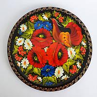 Тарелки расписные. Украинский сувенир.