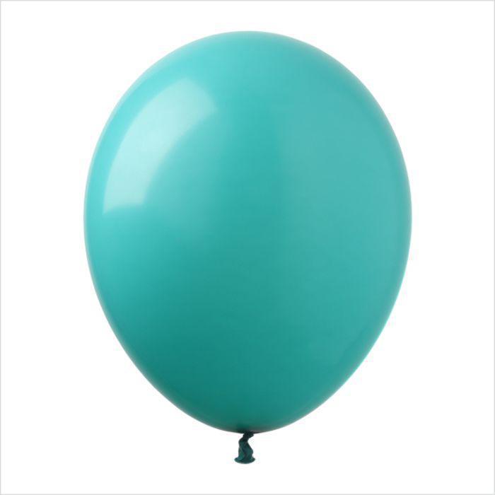 Латексный воздушный шар бирюзовый, 24 см