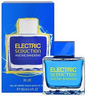 Мужская туалетная вода Antonio Banderas Electric Seduction Blue for men (Электрик Седишн Блю фо Мен) 100 мл