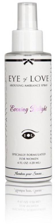 Спрей для белья с феромонами Eye Of Love EVENING DELIGHT for women 120ml