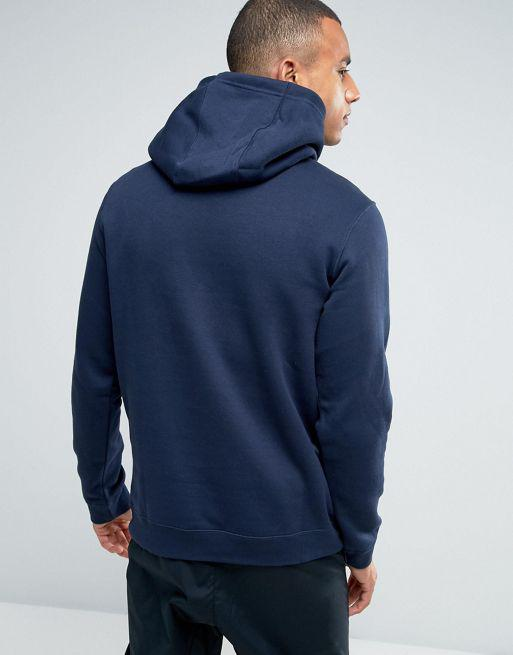 Толстовки и свитера мужские Nike Pull Over Hoodie With Swoosh Logo In Blue 804346-451(05-13-05-03) M