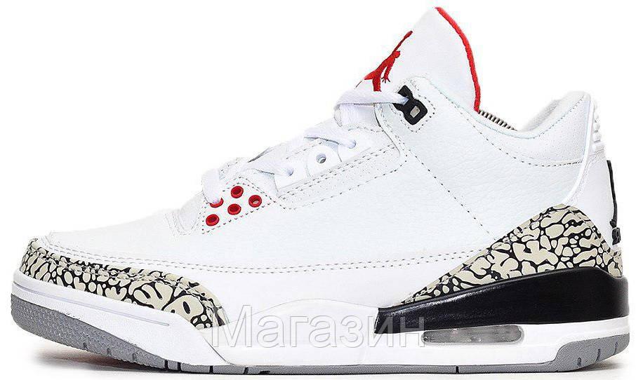 475b7c12cdc3 Баскетбольные кроссовки Air Jordan 4 Retro (Найк Аир Джордан 4 Ретро) в  стиле белые