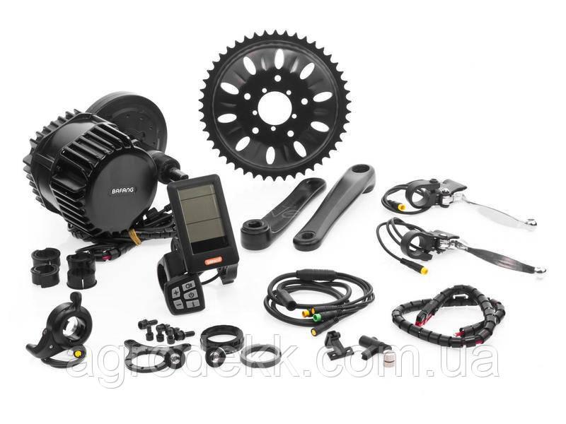 Электромотор Bafang BSHD 48V 1000W дисплей 850C электрический комплект для велосипедов