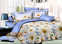 """Двухспальное постельное бельё из ранфорса """"Летний день""""."""