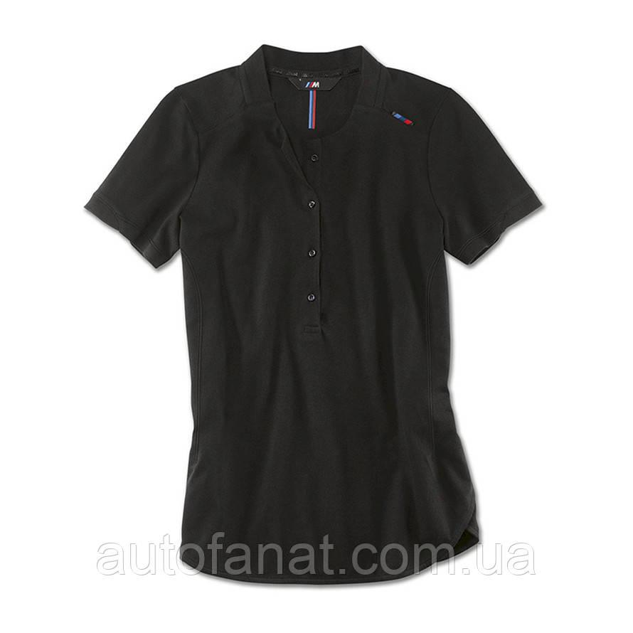 Оригинальная женская рубашка-поло BMW M Polo Shirt, Ladies, Black (80142454719)