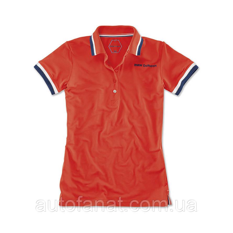 Оригинальная женская рубашка-поло BMW Golfsport Polo Shirt, Ladies, Fire (80142446342)
