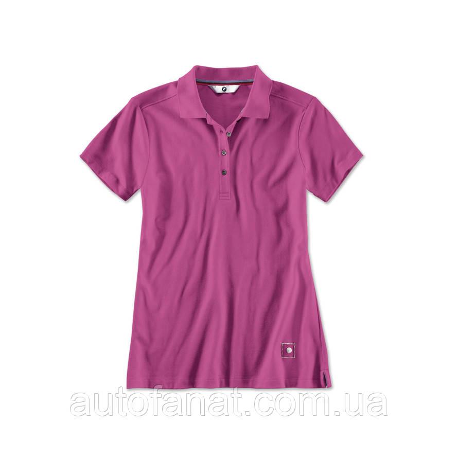 Оригинальная женская рубашка-поло BMW Polo Shirt, Ladies, Zyclam Red (80142411047)