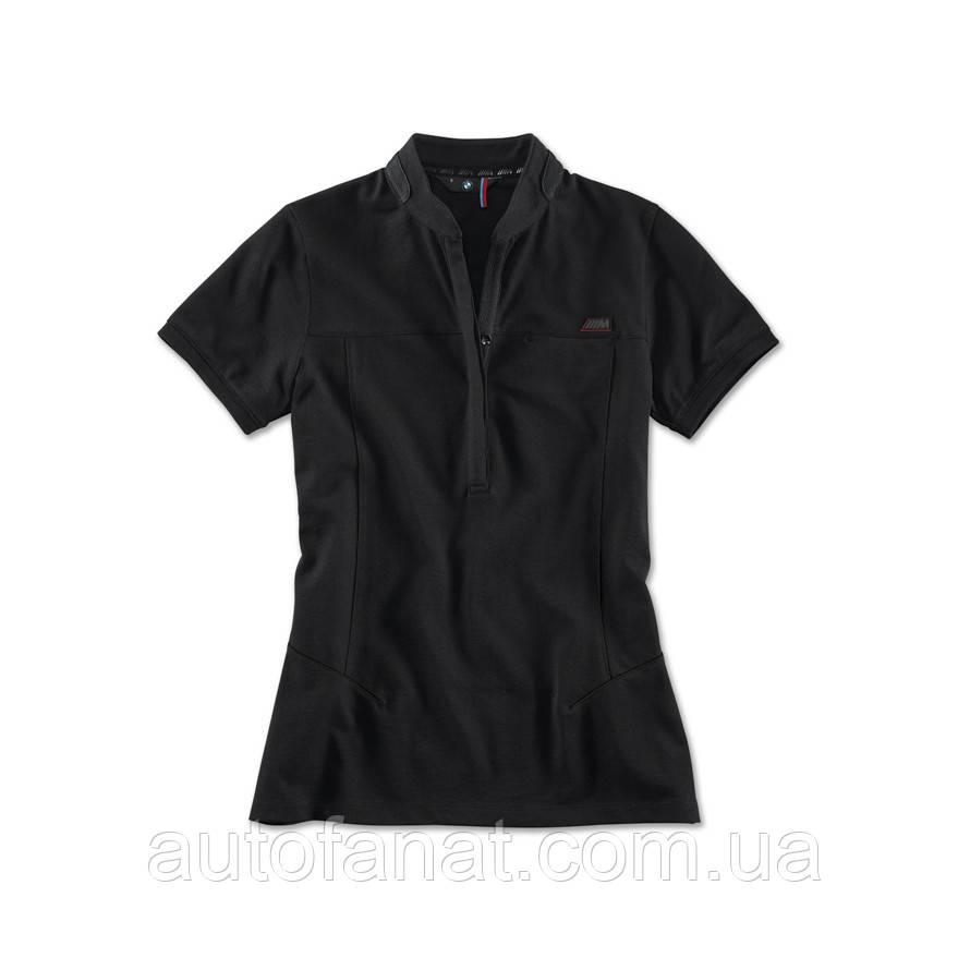 Оригинальная женская рубашка поло BMW M Polo Shirt, ladies, Black (80142410894)