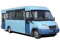 Лобовое стекло на автобус Рута 37, 43М ИНВА