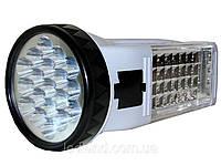 Аккумуляторный светодиодный фонарь Yajia YJ-222, 19+28LED