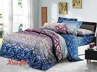 """Стильное постельное бельё """"Иллюзия"""". Размер двухспальный."""