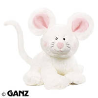 Белый мышонок Webkinz Jr. Mouse