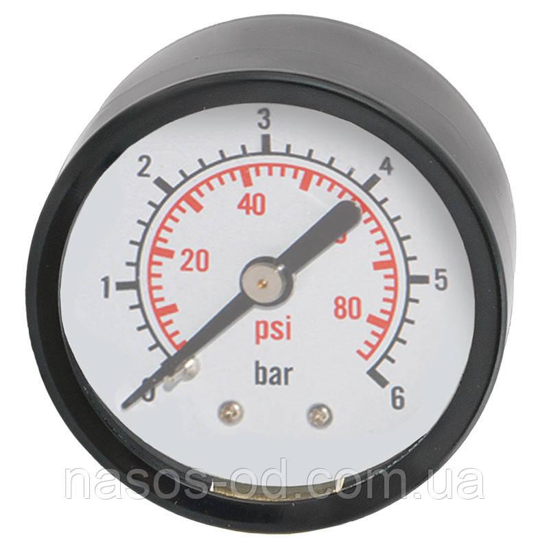Манометр центральный Aquatica 0-10 бар 50мм