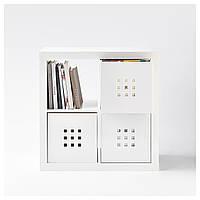 Ящик, белый, 33x37x33 см Икеа Лекман, 102.471.38 Ikea